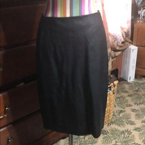 Limited leather pencil skirt size 2